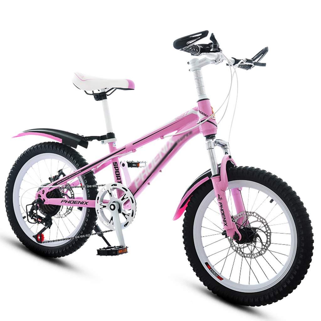 Bicicletas Triciclos Rosa 20 Pulgadas para El Estudiante Niña Montaña De Velocidad Adecuado para Niñas Carro para Dama Al Aire Libre: Amazon.es: Hogar