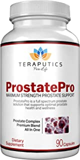 ProstatePro - 33 Herbs Saw Palmetto Prostate Health Supplement for Men | Non GMO Prostate Support Bladder C...