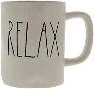 Rae Dunn/Magenta Relax Mug in Large Letters by Rae Dunn
