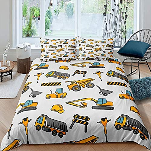 3D Printed Bedding Set for Children Cartoon car Bedding Set Nightmare Before Christmas Duvet Cover with Duvet Cover Sets Funky 220x240cm