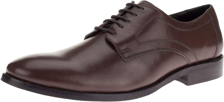 DTI GV Executive Men's Leather Dress Shoe Lace-Up Madison Oxford