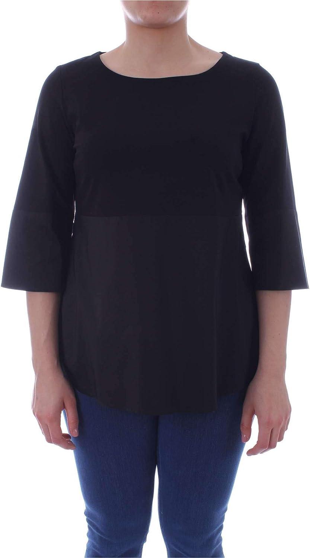 Marina Rinaldi Women's 2972099BLACK Black Cotton Blouse
