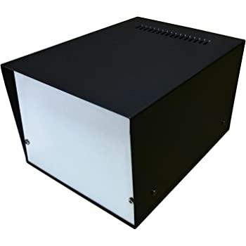 Caja de escritorio para proyectos electrónicos (150 x 200 x 120 mm, aluminio de calidad profesional): Amazon.es: Industria, empresas y ciencia