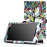 MoKo 5755309 Funda para Tablet 17,8 cm (7') Folio Fundas para Tablets (Folio, Lenovo, Tab 2 A7-10, 17,8 cm (7')