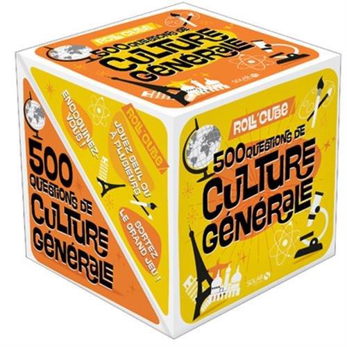 Roll'Cube - Culture générale