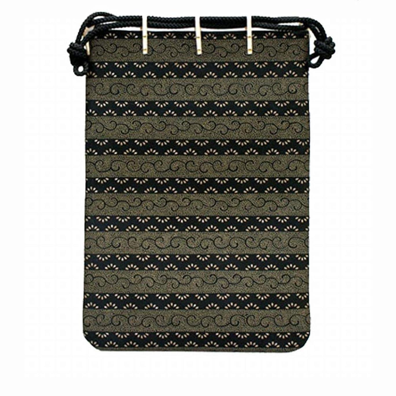 旅行独創的パワー[印傳屋] ポーチ 印伝 合切袋 大 手提げ袋 3004 本革 日本製 財布 上原勇七