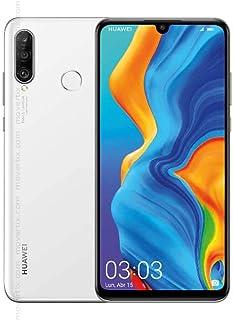 Huawei P30 Lite Dual SIM 128GB 6GB RAM 4G LTE - Pearl White