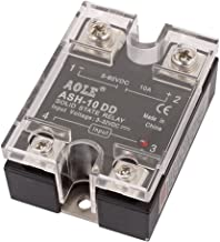 uxcell ASH-10DD 3-32VDC to 5-250VDC 10A Single Phase Solid State DC-DC Relay Authorized