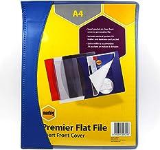 Marbig Flat Files A4 Premier Insert Blue