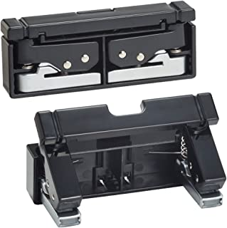LIHIT LAB. Transformable Compact Punch, 2 Holes (Black)