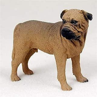 Ky & Co YesKela Bull Mastiff Figurine Hand Painted Statue