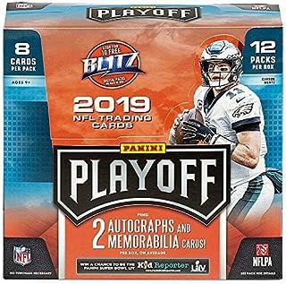 2019 Panini Playoff NFL Football HOBBY box (12 pks/bx)