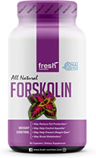 Forskolin - Strongest DNA Verified - Coleus Forskohlii - Appetite Suppressant for Weight Loss - Diet Pills That Work Fast ...