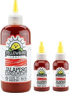 Yellowbird Jalapeño Hot Sauce (2 Nanos + 1 Refill)