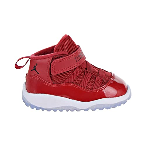 fd32bbc015eaa3 NIKE Jordan 11 Retro BT Toddler s Shoes Gym Red Black White 378040-623