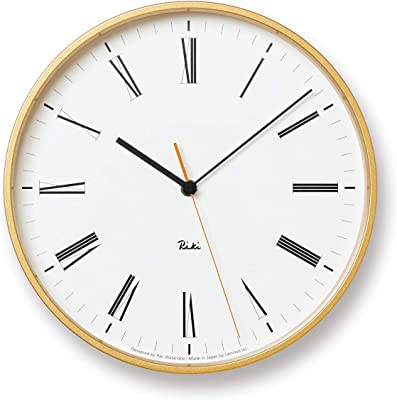 レムノス 掛け時計 リキ ローマン クロック アナログ WR17-12 Lemnos