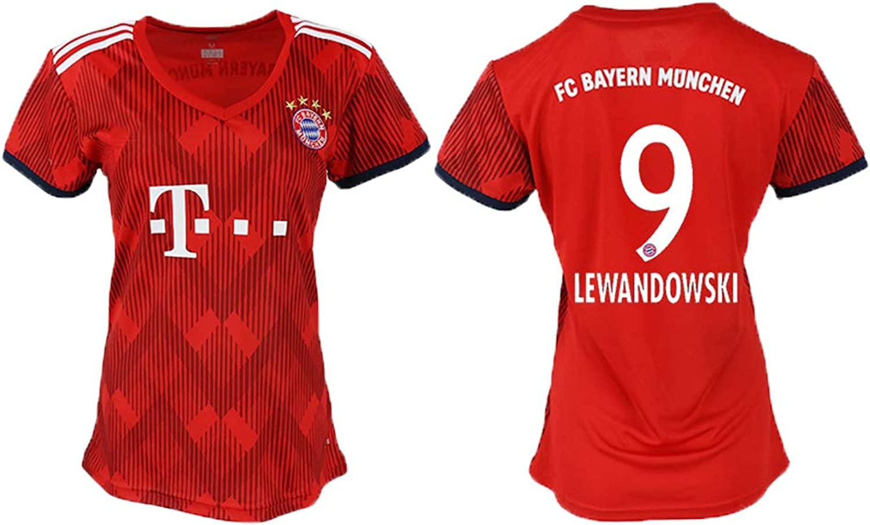 Heilo 2018 19 The New Bayern Munich Lewandowski Women's Soccer Jersey