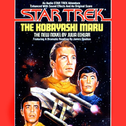 Star Trek: The Kobayashi Maru (Adapted) audiobook cover art