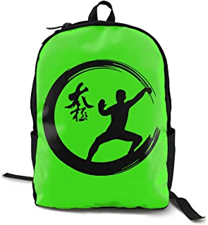 Enso Circle Tai Chi Martial Arts Adult Mens & Womens Unisex Student Funny Style Shoulders Bag