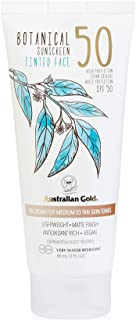 Botanical Tinted Face BB Cream Spf50 Medium Tan 88ml