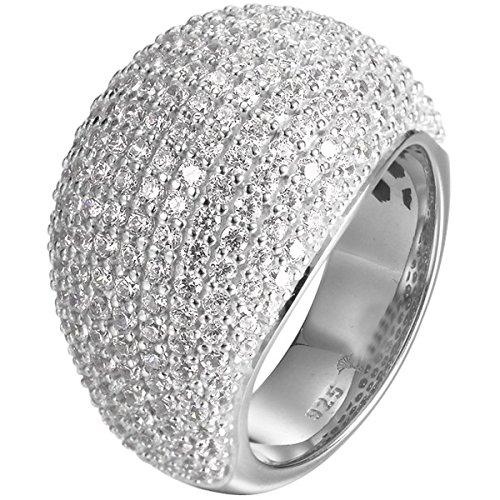 Joop Damen-Ring AMY 925 Silber Zirkonia weiß Gr. 53 (16.9) - JPRG90734D530