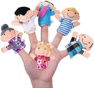 Set of Finger Puppets - Family