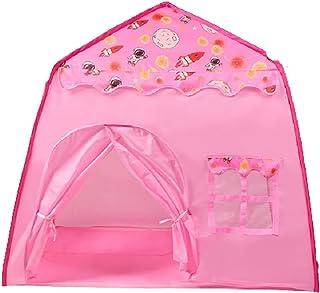 YSJJWDV Teepee tält barn tält Tipi Spielhaus Tipi tält Enfant rum boll pool camping tält prinsessa slott födelsedagspresen...