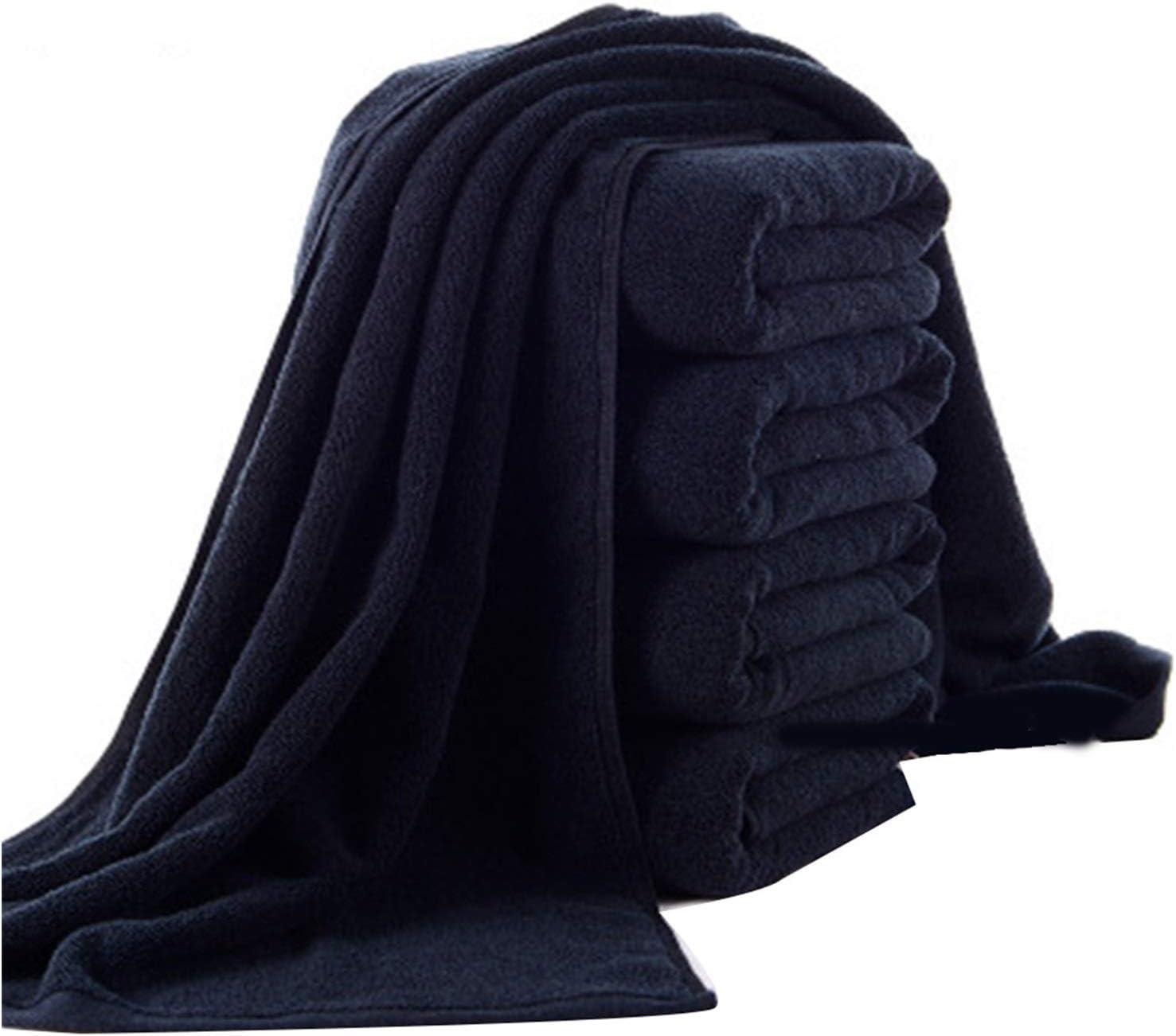Jgzwlkj Bathroom Towels 70x140 cm Black Bath Towel Cotton Pure trust S Max 68% OFF