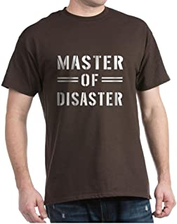 CafePress Master of Disaster T-Shirt Cotton T-Shirt