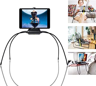 B-Land Tablet Stand for Bed, Adjustable Sofa Tablet Mount Holder with Spider Legs, Universal Cell Phone Stand Compatible with iPad Mini Pro Air, iPhone Series, Samsung Tabs & More