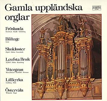 Gamla uppländska orglar