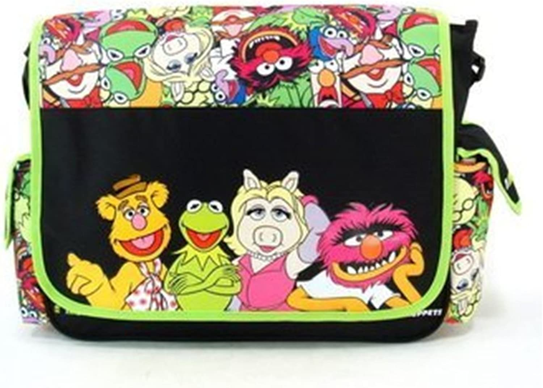 The Muppets Messenger Bag, Shoulder Bag  Kermit   Animal   Fozzie Bear   Ms. Piggy