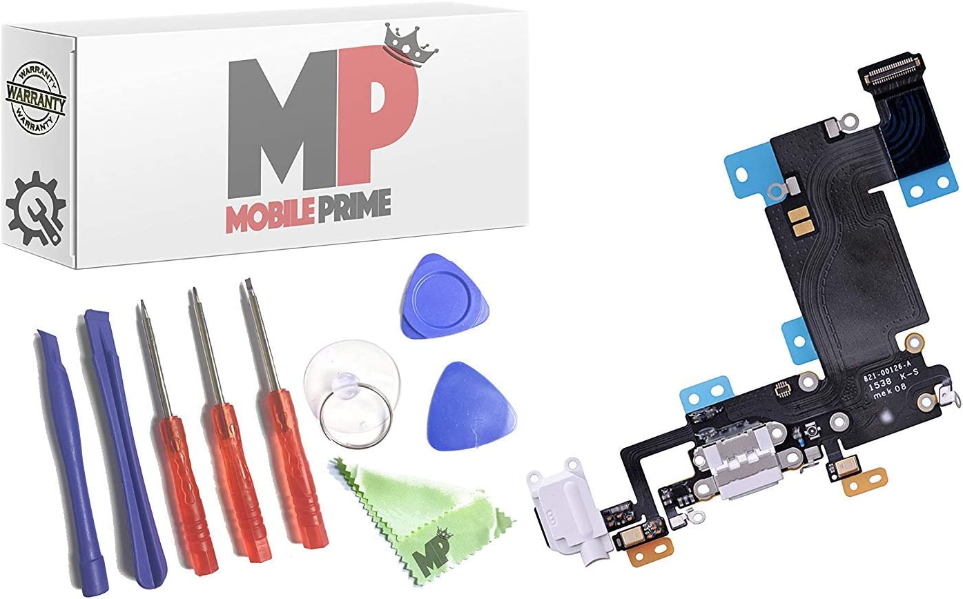 MobilePrime Gray Charging Port Replacement iP Compatible Kit New Shipping Free for Max 57% OFF