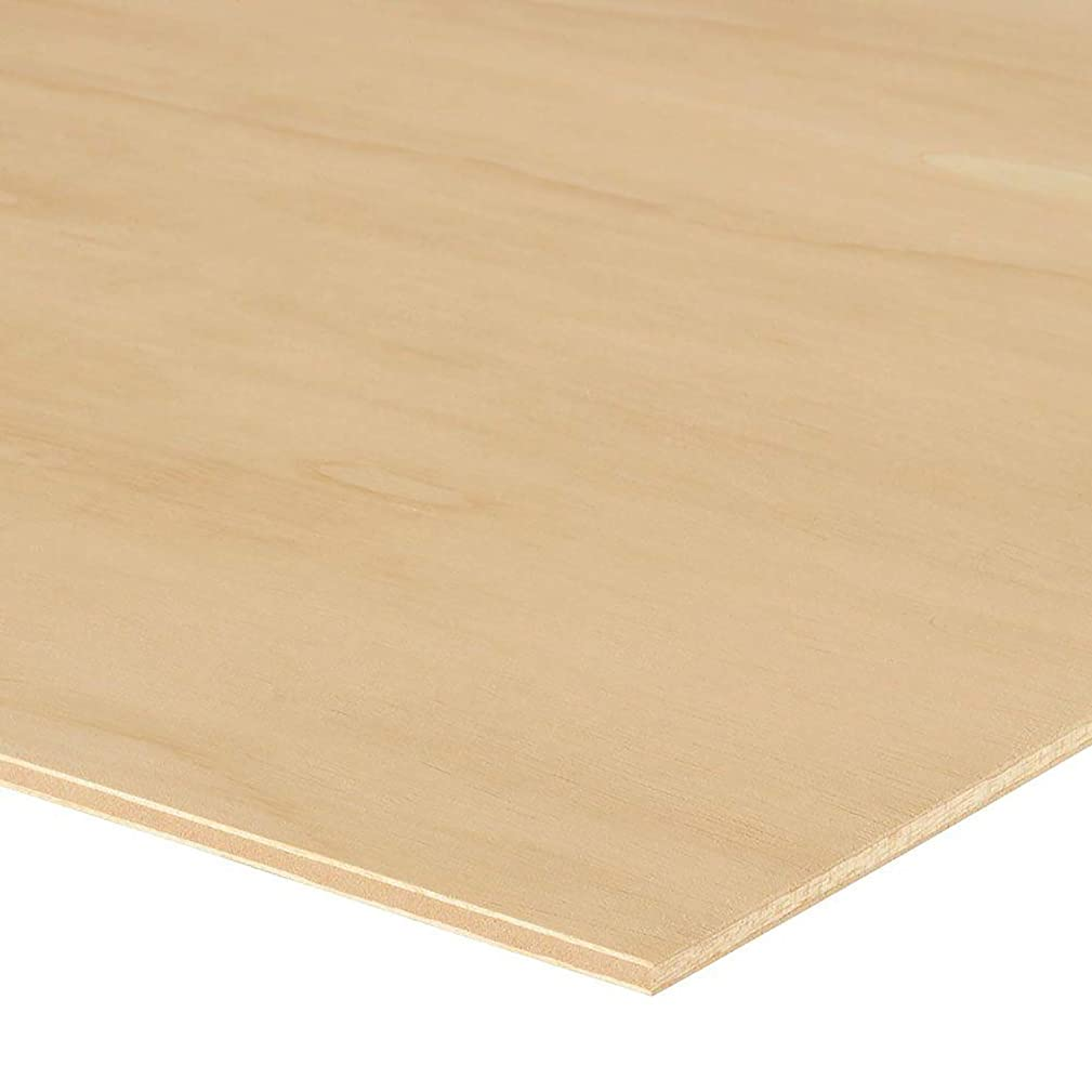 24 Sheets 3/4 in (18mm). x 4 in x 6 in. Sande Plywood