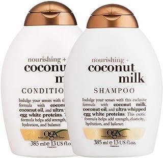 Shampoo OGX Coconut Milk 385ml e Condicionador OGX Coconut Milk 385ml