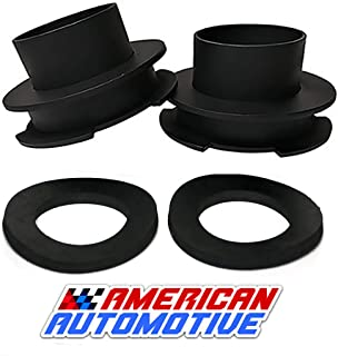 American Automotive 1994-2018 Ram Lift Kit 2WD Made in USA 'Road Fury' Steel Coil Spring Spacers (Set of 2) (3 inch)