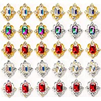 30-Pieces 3D Luxury Nail Art Rhinestones Crystal Diamond