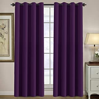 Best plum colored curtains Reviews