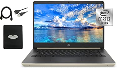 """Sponsored Ad - 2021 Newest HP 14"""" HD Laptop for Business and Student, Intel Core i3-1005G1(> i5-7200U), 16GB Memory, 512GB..."""