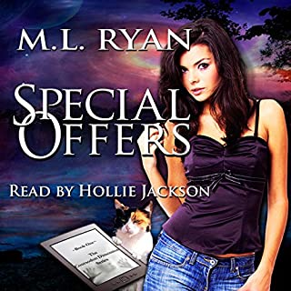 Special Offers     The Coursodon Dimension              By:                                                                                                                                 M.L. Ryan                               Narrated by:                                                                                                                                 Hollie Jackson                      Length: 6 hrs and 28 mins     2 ratings     Overall 4.5