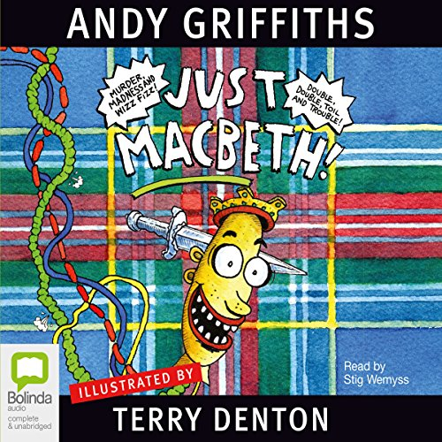 Just Macbeth!  audiobook cover art