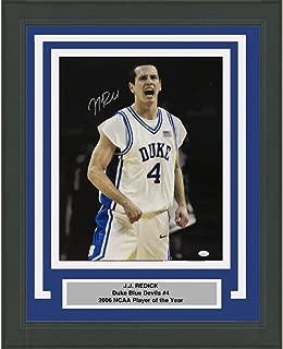 Framed Autographed/Signed JJ J.J. Redick Duke Blue Devils 16x20 College Basketball Photo JSA COA
