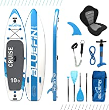 "Bluefin SUP Stand Up Inflatable Paddle Board with Kayak Conversion Kit | Ultimate iSUP Kayak Bundle (10'8"", 12'0"" and 15'0"