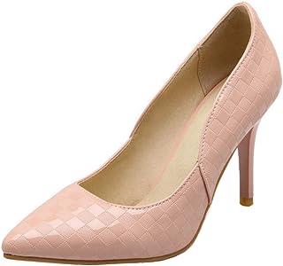 KemeKiss Women Fashion Pointed Toe Stiletto Heel Evening Pumps for Party Dress Wedding
