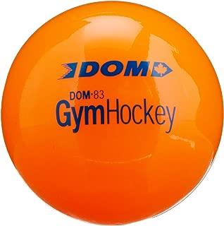 Dom DOM-83/40.000 Gym Hockey Ball for Floor Hockey/Lacrosse,  3 Size,  Plastic,  Orange