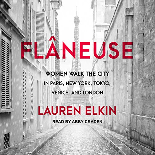 Flâneuse audiobook cover art