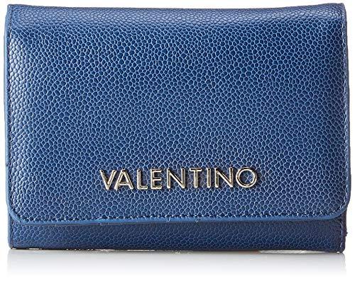 Valentino by Mario Valentino dames Divina portemonnee, blauw (blauw), 2.5x10.5x14.5 cm