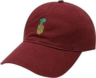 City Hunter C104 Pineapple Cotton Baseball Cap Multi Colors