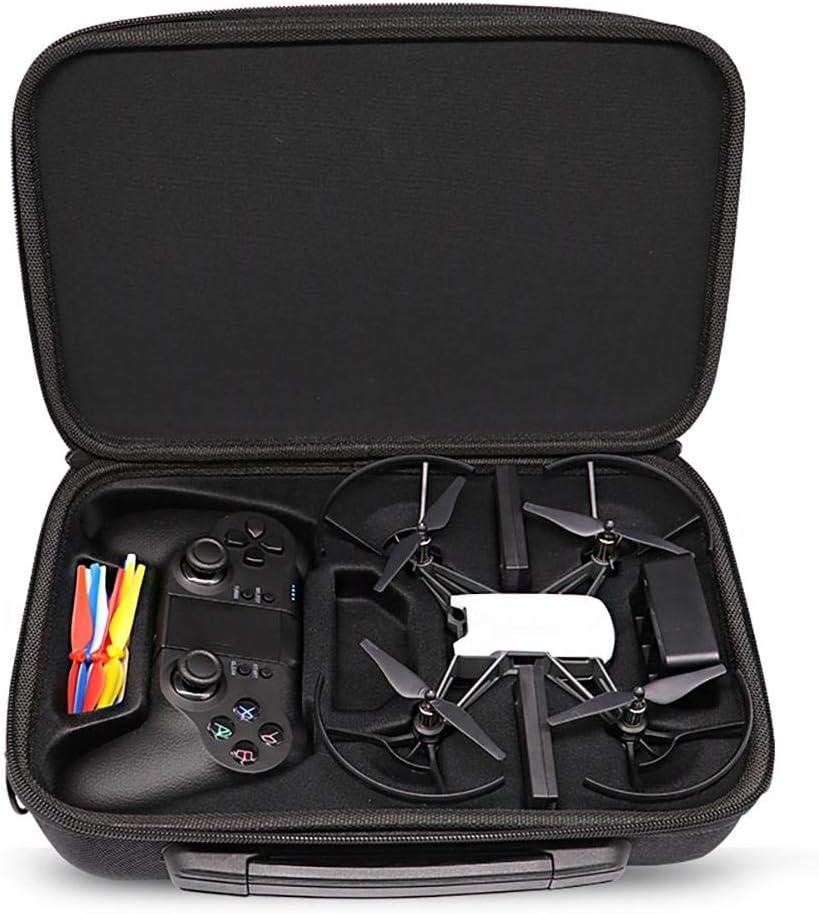 zebroau - Maleta de Viaje rígida para dron dji y Accesorios, de Piel sintética, Ideal para Viajes y Almacenamiento en el hogar