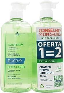 Ducray Champô Extra Doux 400 ml x 2